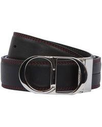 343f8bb05592c Dior Homme Red Stitched Logo Buckle Belt