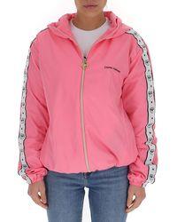 Chiara Ferragni Logomania Zipped Jacket - Pink