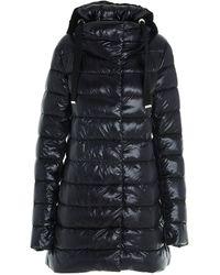 Herno Nancy Ultralight A-shape Down Jacket - Black