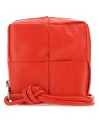 Bottega Veneta Intrecciato Phone Case - Red
