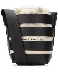 Paco Rabanne Strappy Bucket Bag - Black