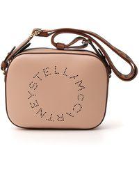 Stella McCartney Mini Logo Stella Bag - Pink