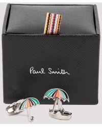Paul Smith Umbrella Cufflinks - Multicolour