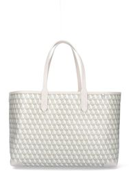 Anya Hindmarch Small I Am A Plastic Tote Bag - White