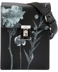 Valentino Flowersity Crossbody Bag - Black