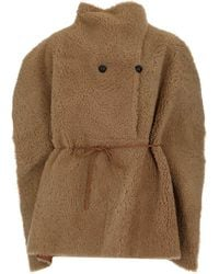 Isabel Marant Ceowyn Cape - Natural