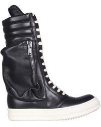 Rick Owens Cargo Basketball Boots - Black