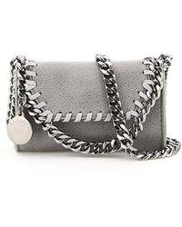 Stella McCartney Falabella Micro Shoulder Bag - Gray