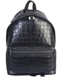 Saint Laurent City Backpack - Black