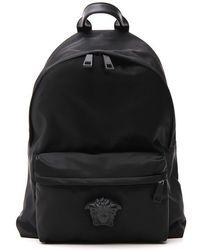 Versace Palazzo Zip Around Backpack - Black