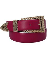 Alberta Ferretti Other Materials Belt - Purple