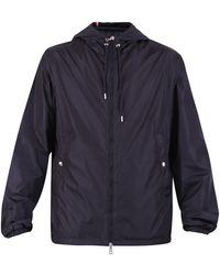 Moncler Grimpeurs Drawstring Hooded Jacket - Blue