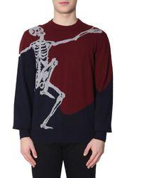 Alexander McQueen Dancing Skeleton Sweater - Multicolour