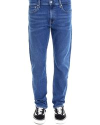 CALVIN KLEIN JEANS EST. 1978 Slim Fit Jeans - Blue