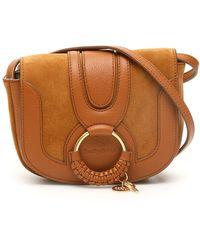 See By Chloé Mini Hana Crossbody Bag - Brown
