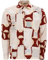 Bode Patchwork Shirt - Multicolor