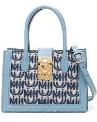 Miu Miu Monogram Bag - Blue