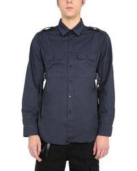 Helmut Lang Other Materials Shirt - Blue