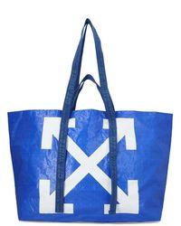 Off-White c/o Virgil Abloh - Arrow Logo Tote Bag - Lyst