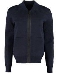 Canada Goose Lennox Knit Jacket - Blue