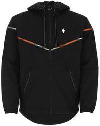 Marcelo Burlon Nylon Jacket Uomo - Black