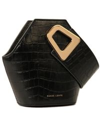 Danse Lente Mini Johnny Bucket Bag - Black