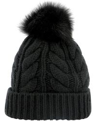 Woolrich Soft Wool Beanie - Black