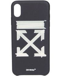 Off-White c/o Virgil Abloh Iphone Xs Max Case - Black
