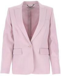 Stella McCartney Iris Tailored Blazer - Purple