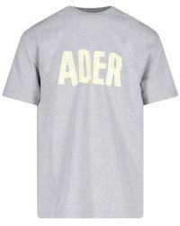 ADER error Logo T-shirt - Grey