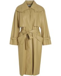 Low Classic Belted Trench Coat - Yellow