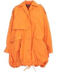 Jacquemus Ouro Parka Coat - Orange