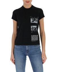 Rick Owens DRKSHDW Small Level T-shirt - Black