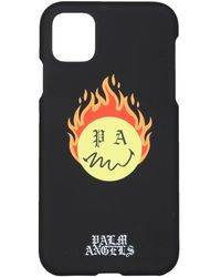 Palm Angels Iphone 11 Cover - Black