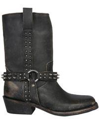 Ash Nelson High Boots - Black