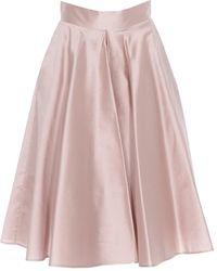 Dolce & Gabbana - Flared Midi Skirt - Lyst