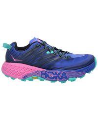Hoka One One Speedgoat 4 Low-top Trainers - Blue