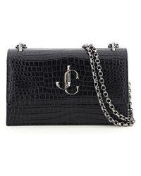 Jimmy Choo Bohemia Chain Clutch Bag - Black