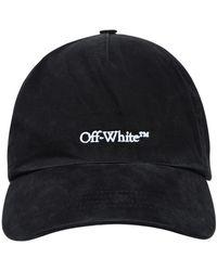 Off-White c/o Virgil Abloh Cappello Logo Nero - Black