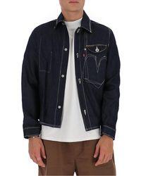 Junya Watanabe X Levi's Denim Jacket - Blue