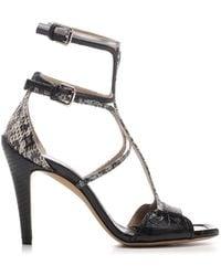Chloé Carla Gladiator Heeled Sandals - Black