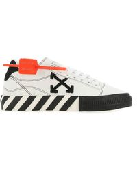 Off-White c/o Virgil Abloh - Low Vulcanized Sneakers - Lyst
