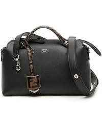 Fendi By The Way Shoulder Bag - Black