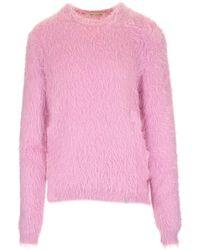 1017 ALYX 9SM Crewneck Knitted Jumper - Pink