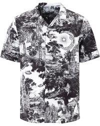 Valentino Printed Short Sleeve Shirt - Multicolour