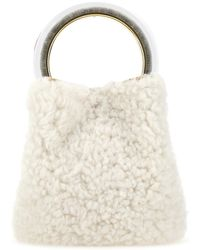 Marni Pannier Bucket Bag - White