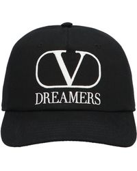 Valentino Garavani Vlogo Dreamers Baseball Cap - Black