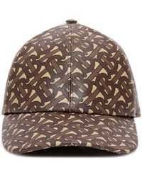 Burberry Monogram Print Baseball Cap - Brown