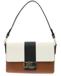 Polo Ralph Lauren Spencer Logo Plaque Shoulder Bag - Multicolor