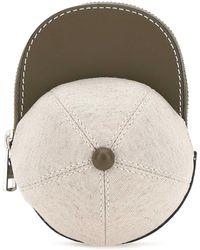 JW Anderson Nano Cap Crossbody Bag - White